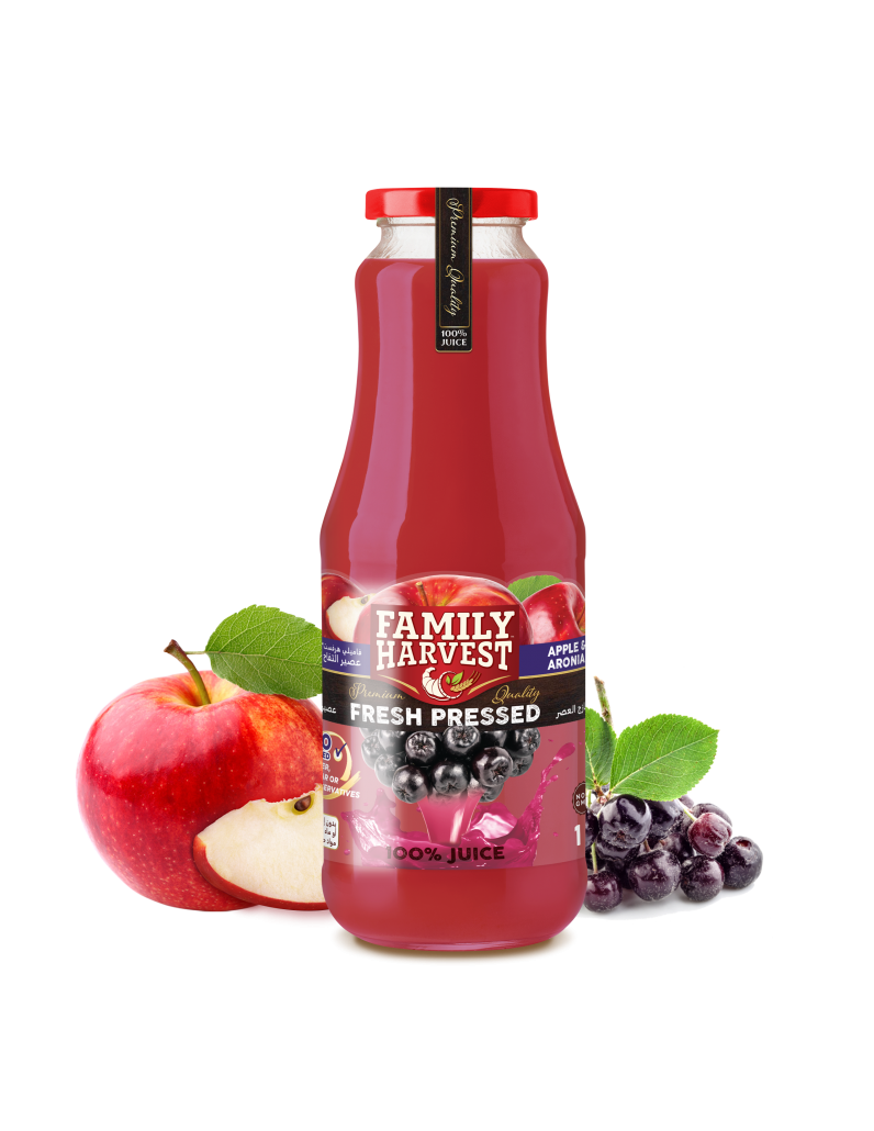 Family Harvest fresh pressed aronia juice