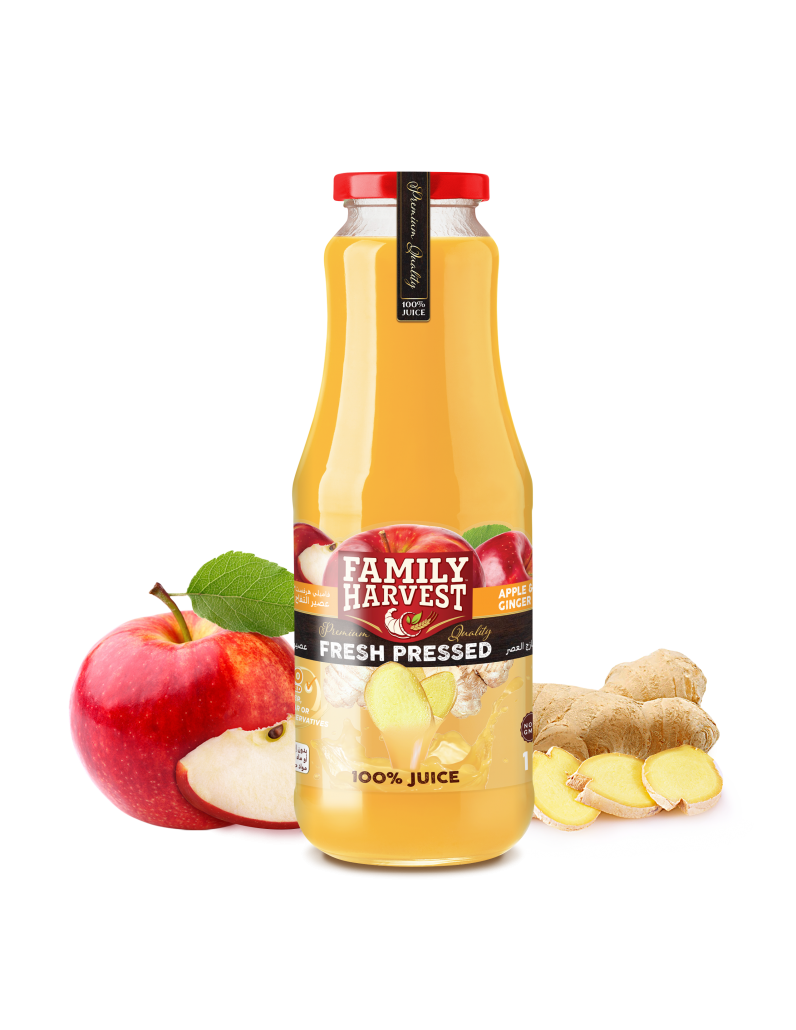 Family Harvest fresh pressed ginger juice