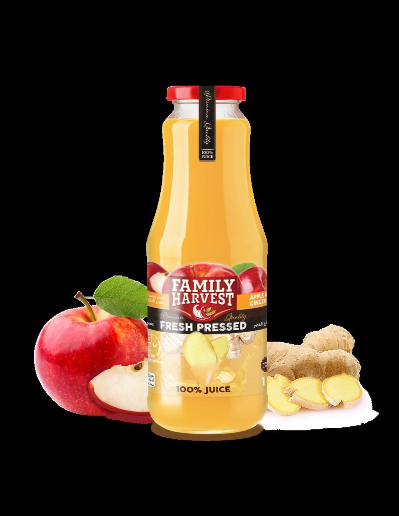 Family Harvest fresh pressed ginger juice