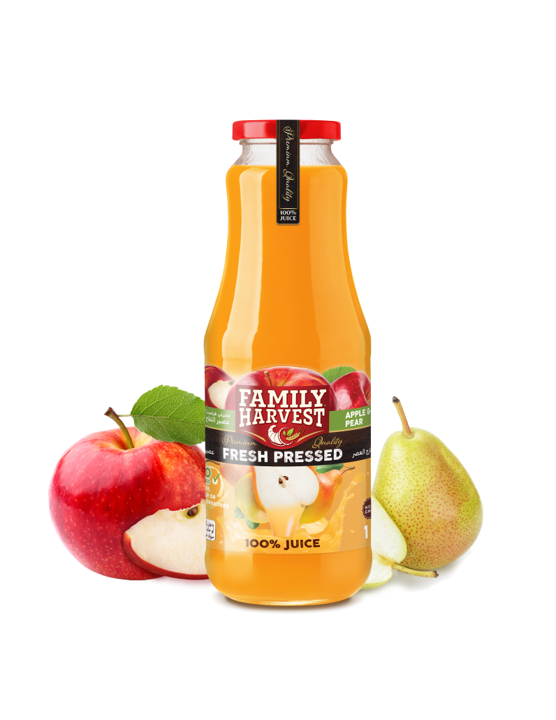Family Harvest fresh pressed pear juice